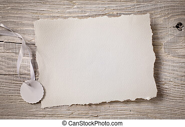 hout, kennisgeving, kunst, kaart, papier, achtergrond, witte