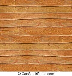 hout, natuurlijke , illustration., houten textuur, realistisch, vector, achtergrond