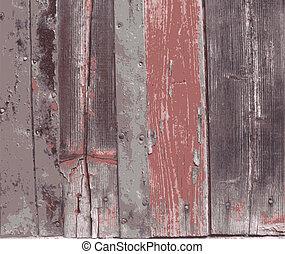 hout, oud, achtergrond, textuur
