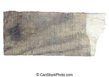 hout, oud, plank, meldingsbord