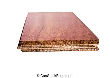 hout samenstelling, parket