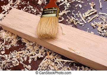 hout shavings
