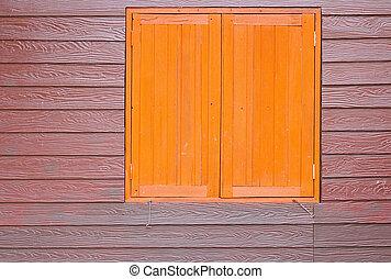 hout, venster