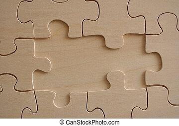 houten, 3, jigsaw