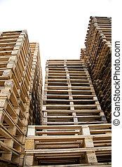 houten, aambeien, pallets