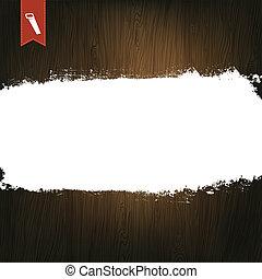 houten, achtergrond, text., ruimte