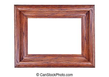 houten afbeelding omlijsting