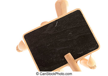 houten, bord, man