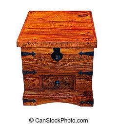 houten borst