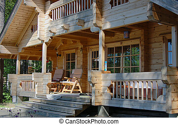 houten, cabine