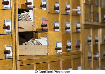 houten, catalogus, oud, kaart