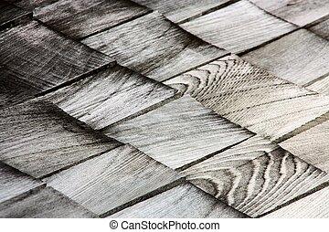 houten, dak