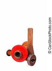 houten, dowels