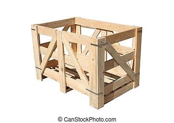 houten geval