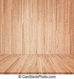 houten, interieur, kamer