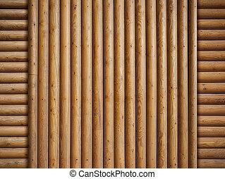 houten, logboeken, achtergrond
