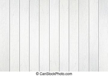 houten muur, witte , textuur