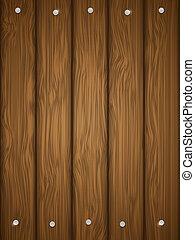 houten, nails., textuur