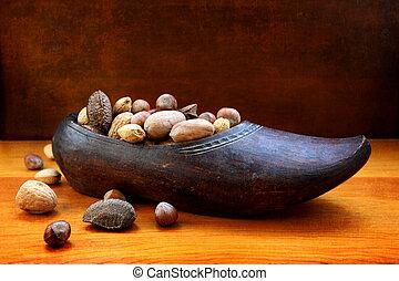houten, nicholas, schoentjes, dag, st
