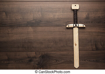 houten, opleiding, speelbal, zwaard