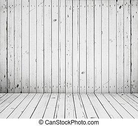 houten, ouderwetse , kamer