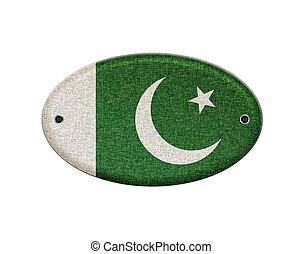 houten, pakistan., meldingsbord