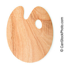 houten, palet, kunst