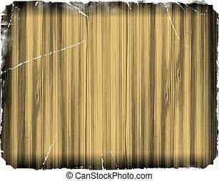 houten, papier, oud, textuur