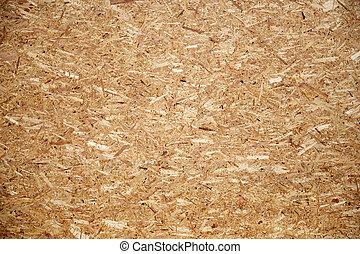 houten, particleboard, of, oppervlakte, plank
