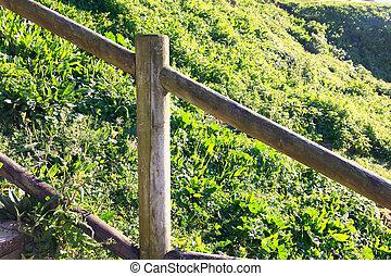 houten, platteland, omheining