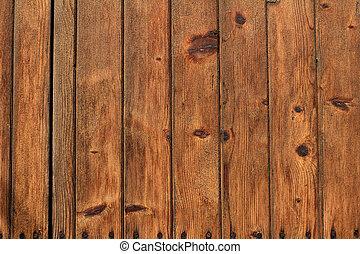 houten raad, achtergrond, of, textuur