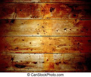 houten, res, hoi, oud, texture.