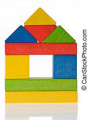 houten speelgoed, blokjes