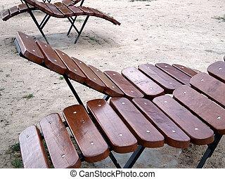 houten, sunbeds