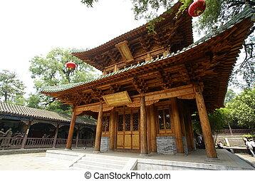 houten, tempel