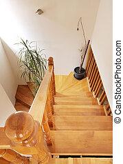houten, trap