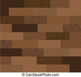 houten, vector, seamless, texture.