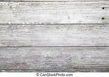 houten, verweerd, plank, textuur