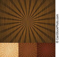 houten, zonnestraal