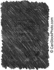 houtskool, textuur