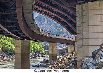 hovedkanalen, ind, glenwood, canyon