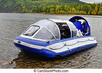 Hovercraft is intended for transportation of people and ...