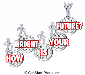 How Bright is Your Future People Climbing Success Going Up Prediction