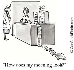 "How does my morning look for woman - ""How does my morning..."
