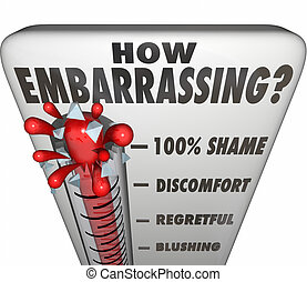 How Embarrassing Thermometer Measure Shame Discomfort - How ...