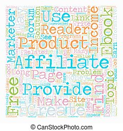 How Free eBooks can Explode your Affiliate Income text background wordcloud concept