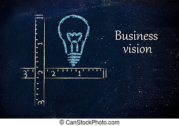 how innovative is your business vision? - conceptual design...