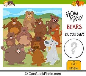 how many bears game