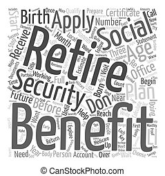 How Should You Prepare For Retirement text background wordcloud concept