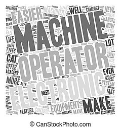 How The Equipment Has Changed 1 text background wordcloud concept